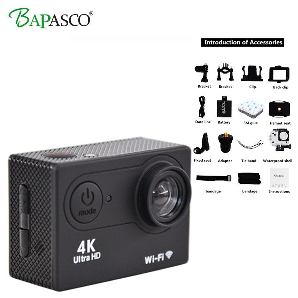 WIFI caméra d'action Ultra HD mini-caméra 4 K/25FPS 1080 p/60fps 720 P/120FPS Étanche 2.4G sans fil télécommande Vidéo caméra de sport
