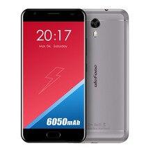 Ulefone Power 2 European version Smartphone 5.5 Inch FHD MTK6750T Octa Core Android 7.0 4GB+64GB 16MP 6050mAh Fingerprint ID 4G(China)