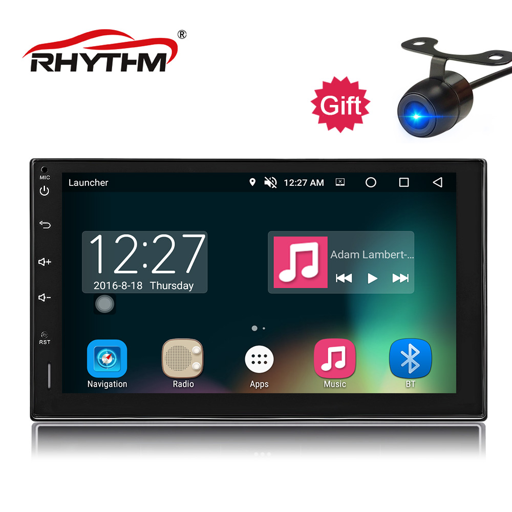 2din Android 8.0 Octa Core Car Radio Stereo 4G+32G 7 Capacitive TouchScreen HD GPS Navigation Bluetooth USB SD Player Universal