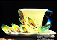 RF01 Counter Genuine Xuanjin Phoenix Bone China Coffee Cup Dish Porcelain Franz Franz