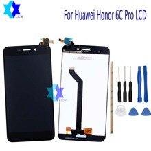 Ограниченное предложение Для Huawei Honor 6C Pro ЖК-дисплей Дисплей + Сенсорный экран Панель цифровой Запчасти для авто сборки оригинальный 5.2 дюймов 1280×720 P наличии
