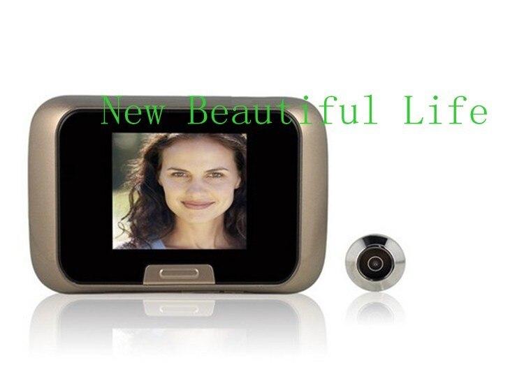 Household Electronic Doorbell 2.8 TFT Display CMOS Sensor Door Viewers Video Recorder Digital Peephole Viewer High Quality