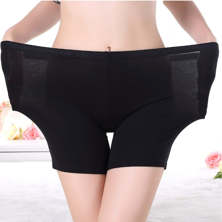 Cotton Material Boxer Femme Shorts Safety Pants For Women Safety Shorts Big Size High Waist Ladies Underwear Plus Size Bokserkie