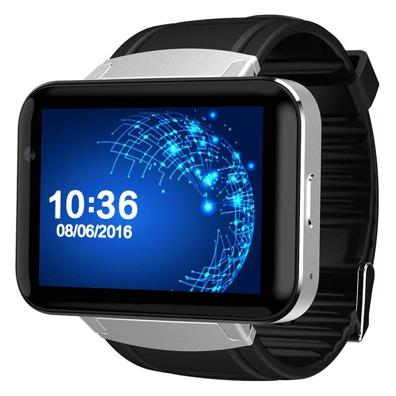 imágenes para 2017 DOMINÓ DM98 WIFI3G navegación GPS con pantalla grande llamada Android paso a paso del sueño pantalla táctil completa reloj inteligente