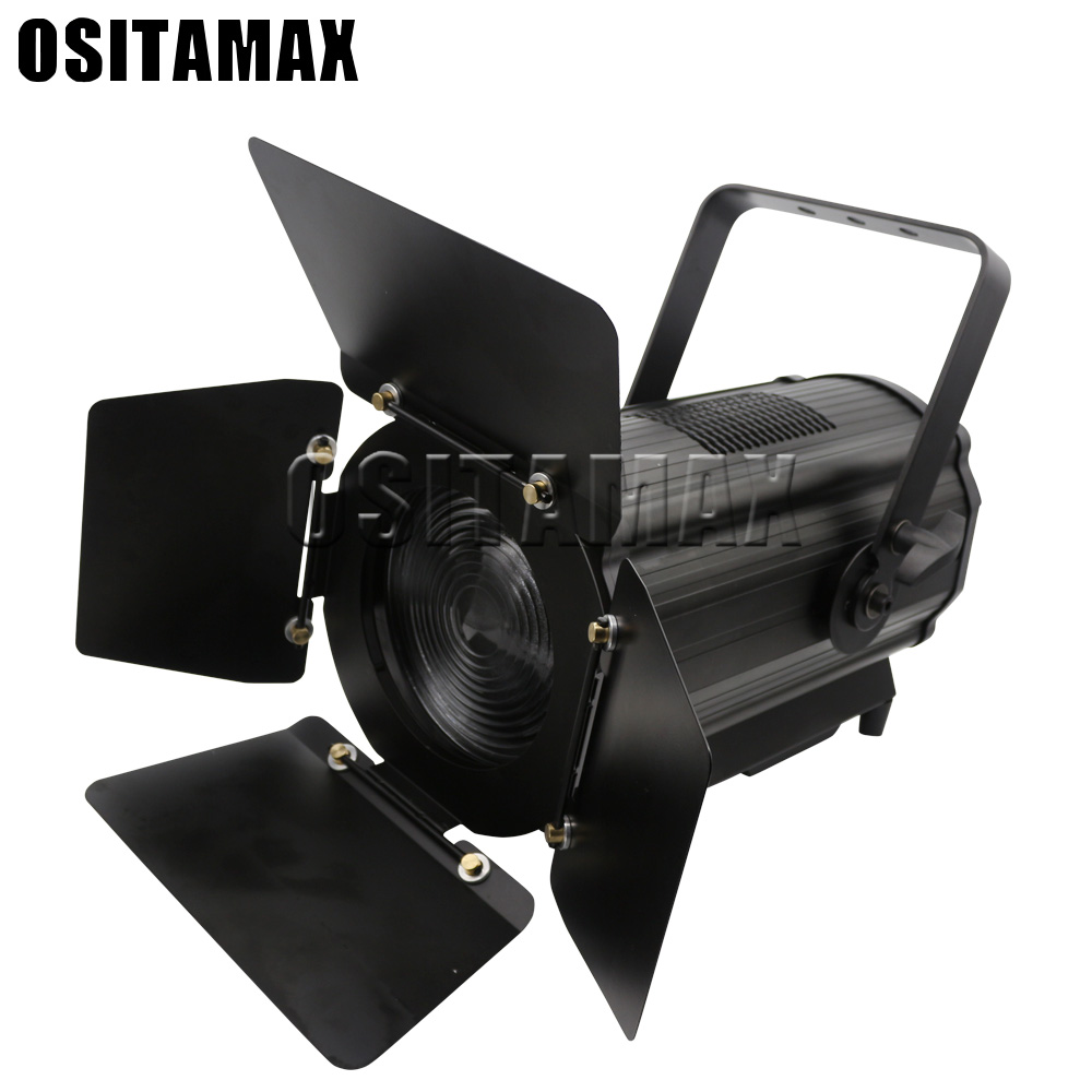Led Stage Light Manual Zoom Led Fresnel Spot Light Dmx Studio Spot Lighting Theater Fresnel Light With High Power Good Quality