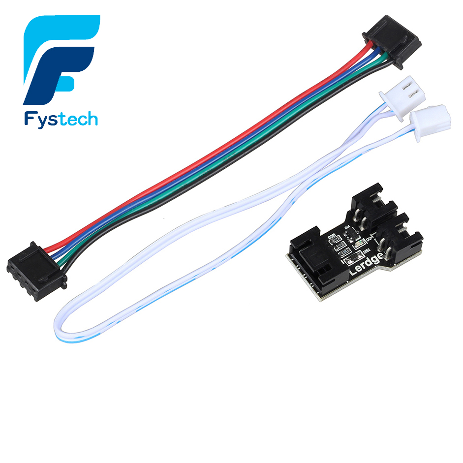 1pc Heated Bed Adapter Module Motherboard Hot Bed Expansion Interface Adapter Module For Lerdge 3D Printer Controller Parts