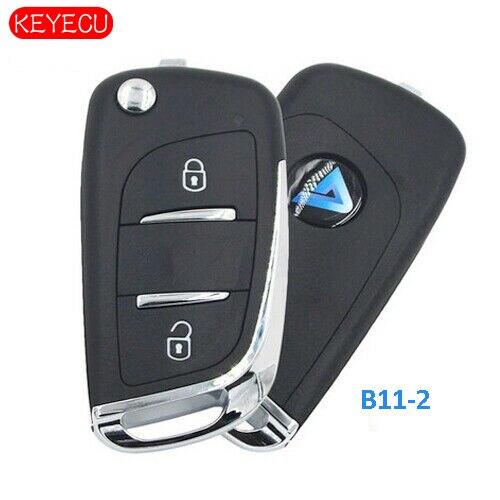 Keyecu 5PCS KEYDIY Universal KD Remotes B-Series for KD900 KD900+ URG200+ KD-X2 B11-2