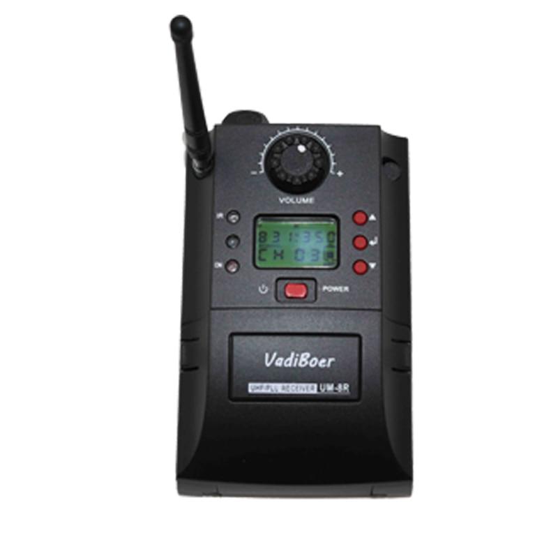 Sistema de cámara inalámbrica UM-8R Sistema de micrófono - Audio y video portátil - foto 3