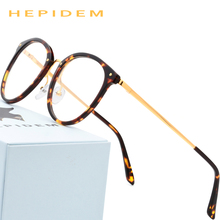 a99a4e1795 Acetate Glasses Frame Men Vintage Round Oliver Prescription Eyeglasses 2018  People Women Myopia Optical Frame Spectacles