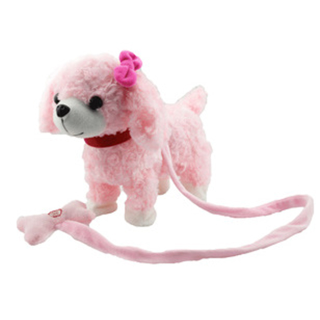 NewNew arrival Musical Electronic pet Dog Toys For Children leash dog called electric dance music plush