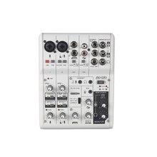 Vadiboer AG06 6 каналов мини-миксер цифровая звуковая плата для церковной цифровой микшерной консоли аудио цифровой микшер soundcraft