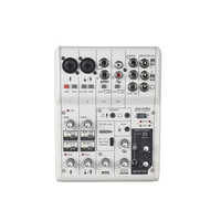 Vadiboer AG06 6 kanäle mini mixer digital sound board für kirche digitales mischpult audio digital mixer soundcraft