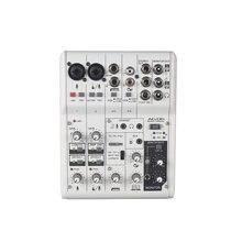 Vadiboer ag06 6 каналов мини миксер цифрового звука доска для