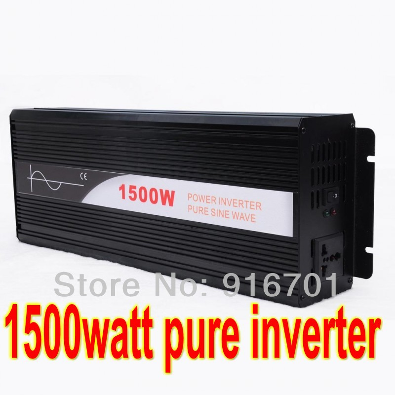 цена на digital display 1500w Pure Sine Wave Inverter 3000W Peak 36VDC to 220VAC Power Inverter