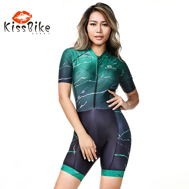 2019 KissBike SPORT Women body skinsuit quality Equipment Triathlon custom ropa ciclismo hombre maillot Sponge cushion ciclismo2019 KissBike SPORT Women body skinsuit quality Equipment Triathlon custom ropa ciclismo hombre maillot Sponge cushion ciclismo