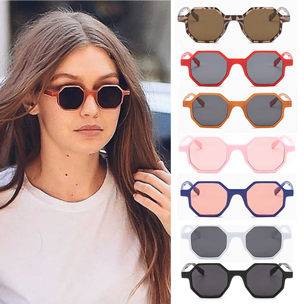 2a779f7b34 Long Keeper Small Hexagon Sunglasses Women 2018 New Brand Polygon Sun  Glasses Female Modern Style Eyeglasses