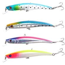 11.5CM 12G Fishing Lures Bass Crankbait Fishhooks Deal with Lifelike Putting Fishing Equipment