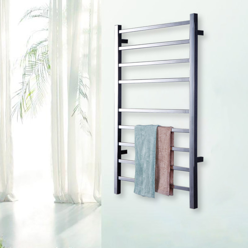 Yijin HZ-919A Wall Mounted Style Towel Warmer Electric Heated Towel Rail Bathroom Towel Shelf Towel Holder Rack Stainless Steel