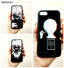 anime angry kaneki ken Tokyo ghoul  soft edge cell phone cases for apple iPhone x 5s SE 6 6s plus 7 7plus 8 8plus XR XS MAX case стоимость
