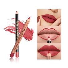 Two Lipstick Pen + Lip Liner Set Matte Waterproof Balm Pencil RSQ-K50