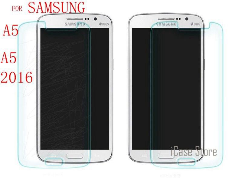 Tempered glass folie sklo FOR Samsung Galaxy A5 A500 A500F A500H SM-A510F A5000 A510 A5100 SM-A500F Screen Protector Films 2016