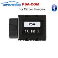 PSA-COM Bluetooth Arayüzü Değiştirin Citroen Için Lexia 3 PP2000 OBD2 Teşhis ve Programlama/Peugeot PSA PSACOM COM Kod okuyucu