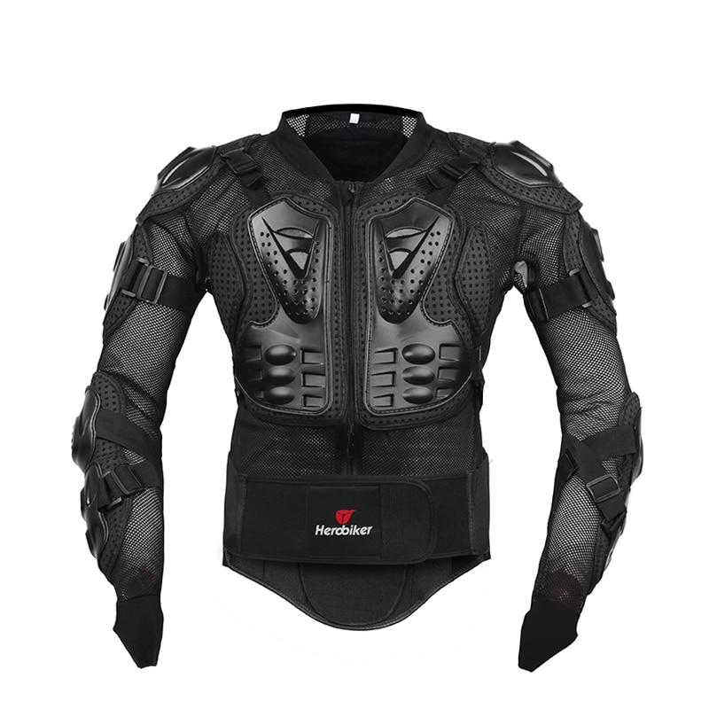 HEROBIKER Motorcykeljacka Män Hela Kroppen Motorcykel Armor - Motorcykel tillbehör och delar - Foto 2