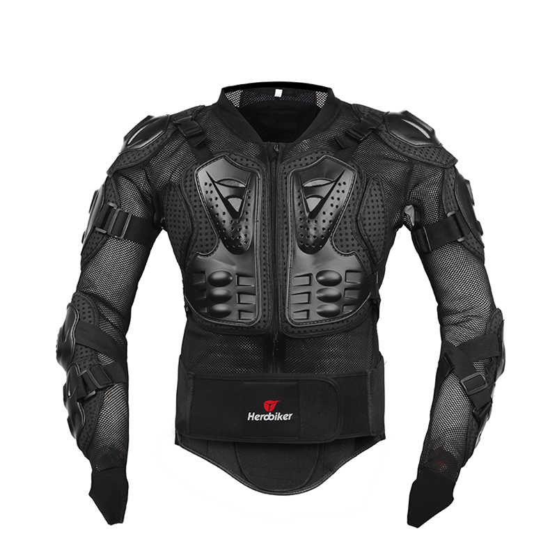 HEROBIKER moto veste hommes corps complet moto armure Motocross course équipement de Protection moto Protection taille S-5XL # - 2