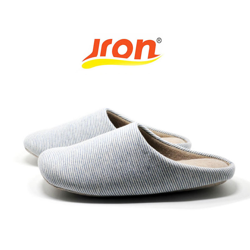 Jron 2017 Candy Color Cotton Fabric Slippers Indoor Floor Shoes Stripe Fashion Slippers Summer Spring Solid For Women And Men free shipping candy color women garden shoes breathable women beach shoes hsa21