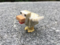 Geniune Minecraft Overworld 3cm Length Duck By Jazwares New Loose