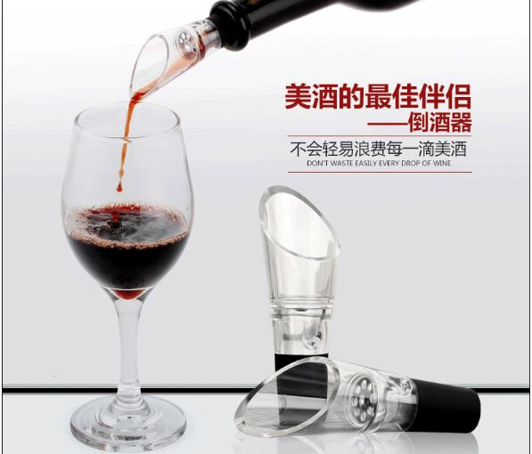 Creative wine pourer bottle stopper wine aerator bar accessores bar tools kitchen tools