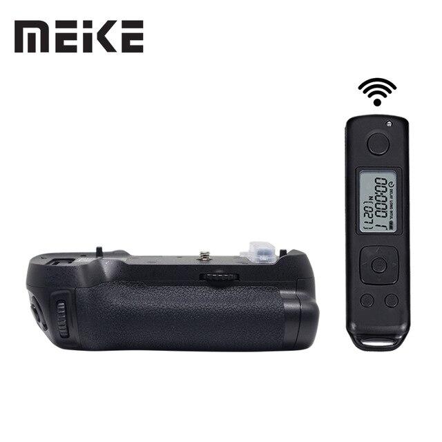 Bloco de Poder Aperto Da Bateria Meike MK-D850 Pro Disparo Vertical com 2.4G Hz Câmera de Controle Remoto Sem Fio para Nikon D850