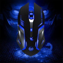 Hillsionly New Arrival Hot Wired 3500 DPI 6 Button Optical Custom Macros USB Gaming Steel Mouse Mice