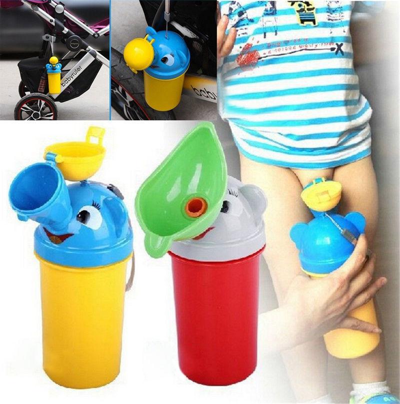 Portable Travel Cute Baby Urinals Kids Potty Girl Boy Car ...