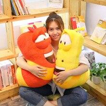 35/65CM Anime Movie Giant Size Insect Slug Creative Larva Plush Toy Stuffed Soft Cartoon Pillow Children Kids Christmas Present