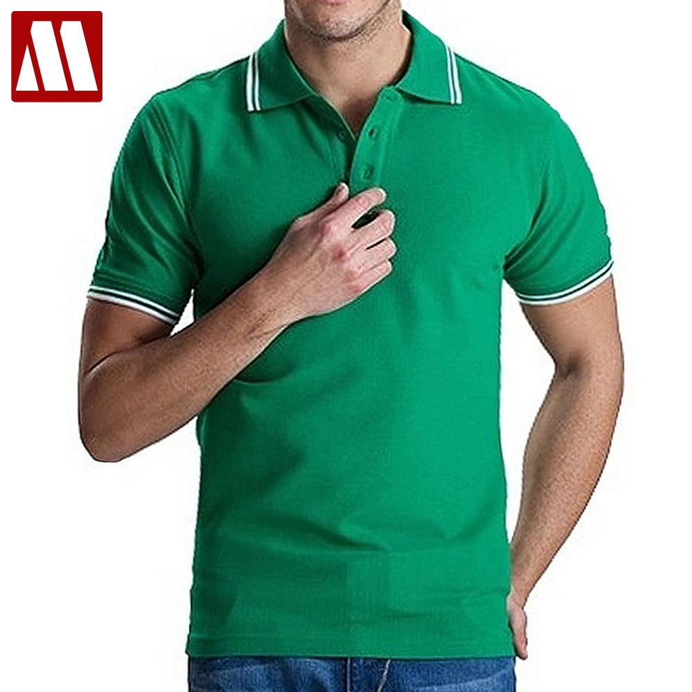 2018 Brand Clothing Mens Polo Shirts Breathable Cotton Short Sleeve