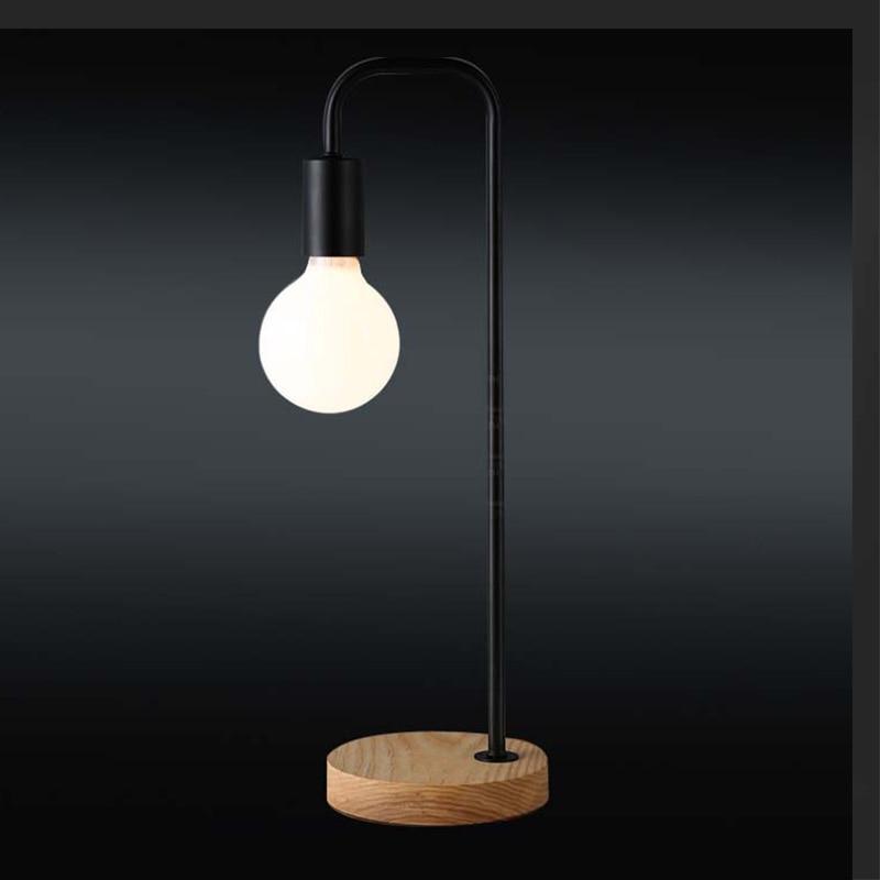 Charming Massivholz Basis Design Boden Tischlampe Nachttischlampe Led Schreibtisch  Licht 220 V Home Cafe Schlafzimmer NEUE Leselampen Nacht Beleuchtung In  Massivholz ...