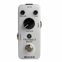 Mooer Micro Triangle Buff Legendary Fuzz Tone Electric Guitar Effect Pedal True Bypass