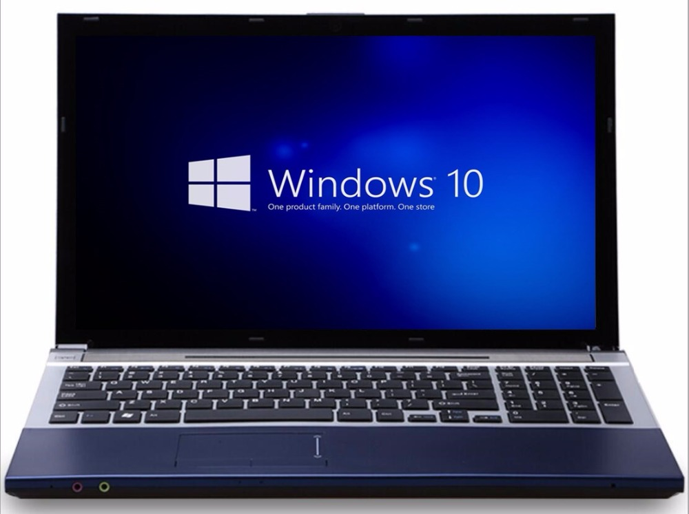 8G RAM+60G SSD and 750G HDD Intel Core i7 Dual-core Laptop 15.6inch 1920x1080P Windows 7/10 Notebook With DVD-RW For Office Home