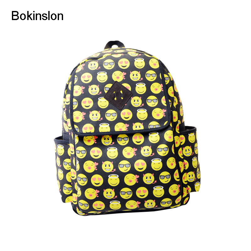 Bokinslon Fashion Women's Backpacks Canvas Simple Student Woman School Bags Casual Practical Travel Women Bags рюкзаки zipit рюкзак shell backpacks