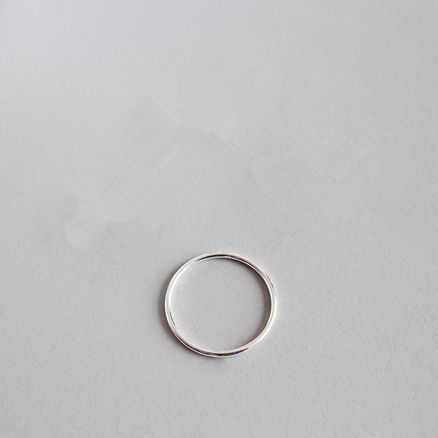 1.2mm narrow 925 sterling silver rings for women aneis, minimalism ring anel feminino ring silver 925 jewelry anillo joyas