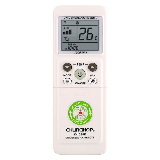 HOT CHUNGHOP K 1038E Universal A/C Remote White Remote Control Controller for air conditioning Conditioner