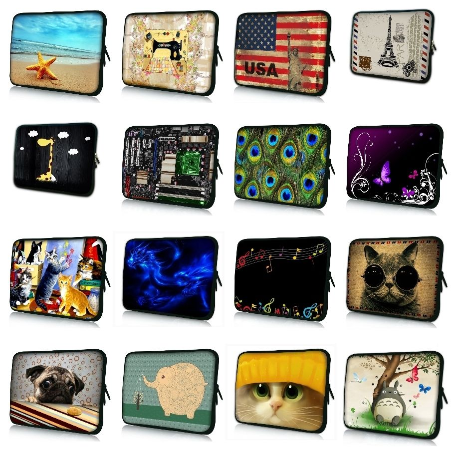 7 10 12 13.3 14 15.6 17.3 inch Customize Notebook Laptop Sleeve Bag Carrying Handle Case protector For Macbook Air/Pro/Retina #8