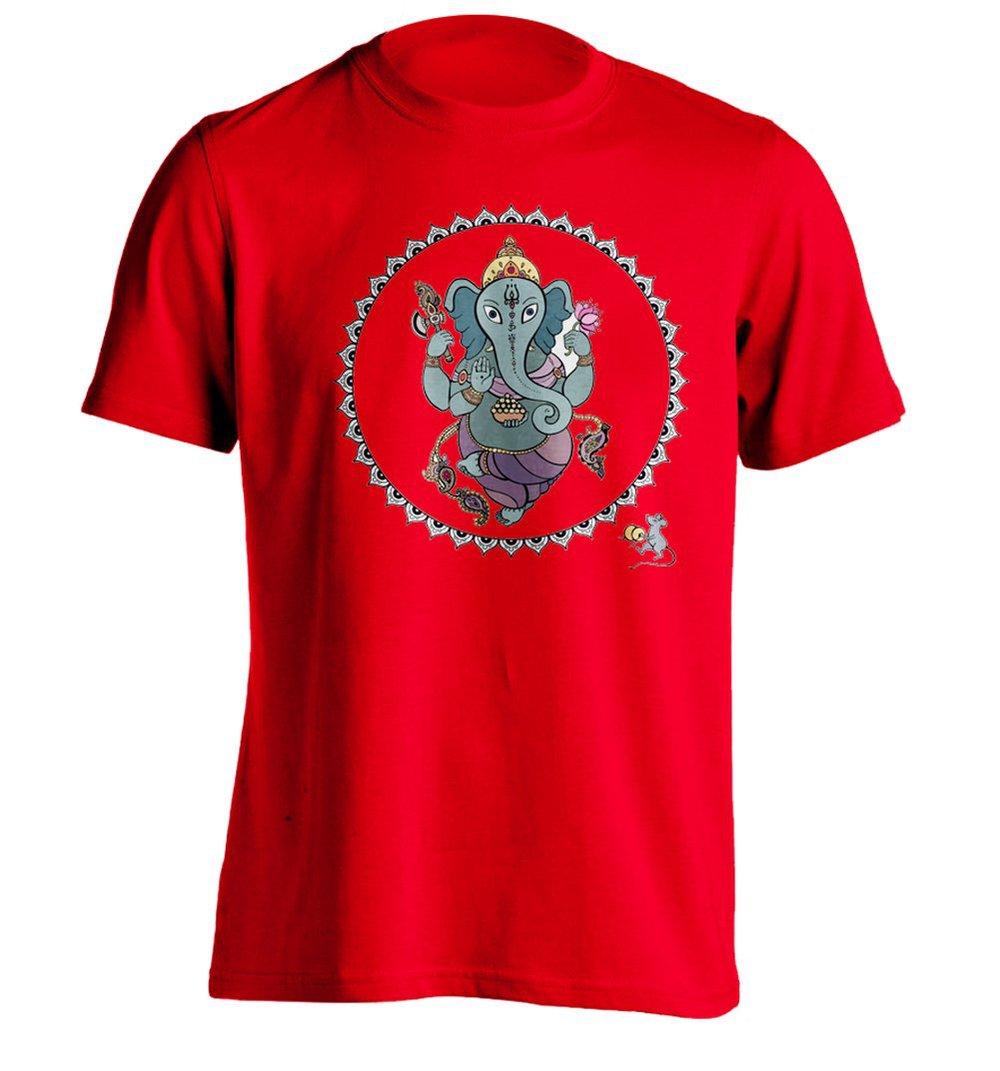 Hindu god ganesha mens t shirts design personalized tee in for Make personalized t shirts