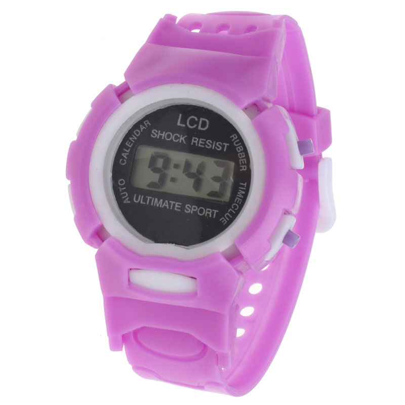Hot Fashion Kid's Watches Children Boys Girls Student Time Sport Electronic Digital LCD Wrist Watch Clocks Relogio Montre C0604