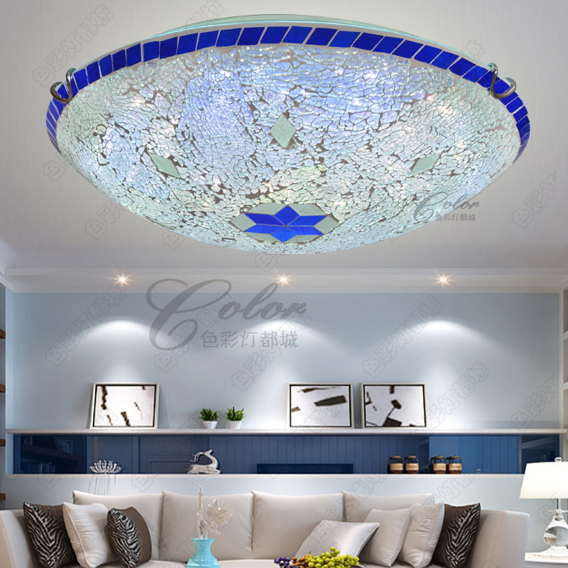 Mediterranean led dome light with a Bohemian corridor balcony bedroom lamp hall room porch children absorb dome light