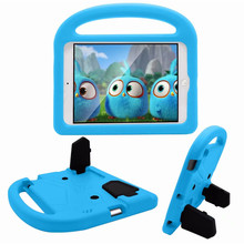 360 full body Handle EVA Foam Protective Cases Shockproof Kids skin Cartoon Cover for Apple iPad 2 3 4 stand function