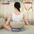 Confortável Massagem Shiatsu Máquina Multifunções 4D Pescoço Ombro Massager Casa Plugue Plugue Carro Travesseiro Massageador Aparelho