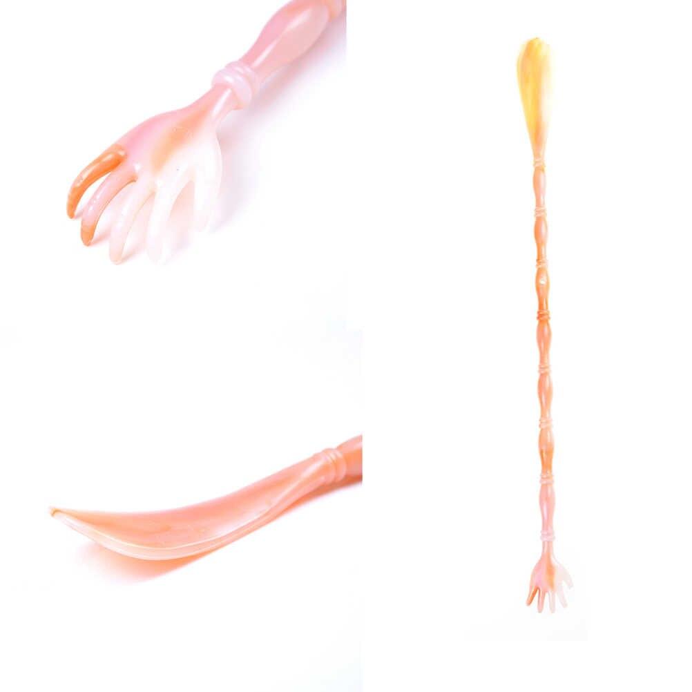 Profesional de zapatos de plástico cuernos soporte Flexible resistente Slip cuchara forma calzador zapato elevador pie de apoyo