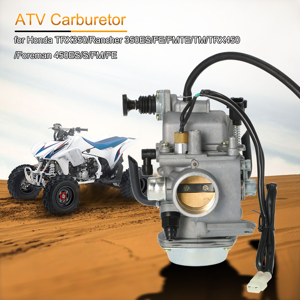 ATV Quad Carb Carburetor for Honda TRX350/Rancher 350ES/FE/FMTE/TM/TRX450/Foreman 450ES/S/FM/FE
